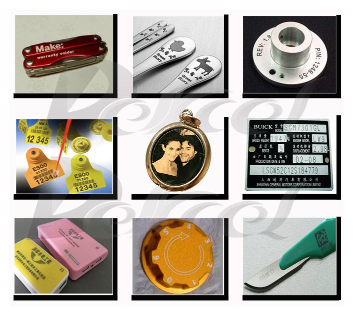 Copper/Aluminium/Gold Laser Engraver Machines for Sale CNC Fiber Metal Marker
