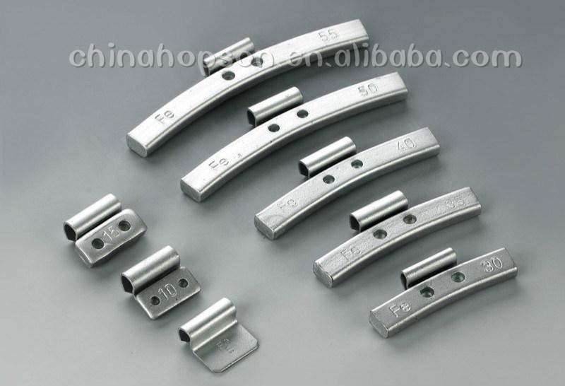 Steel/Fe Clip-on Wheel Balance Weights F201