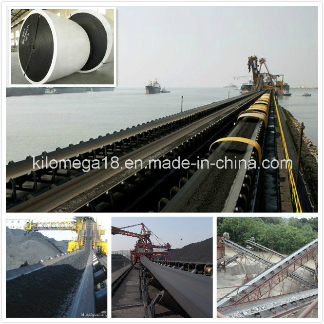 Rubber Conveyor Belt with 12mm Thickness