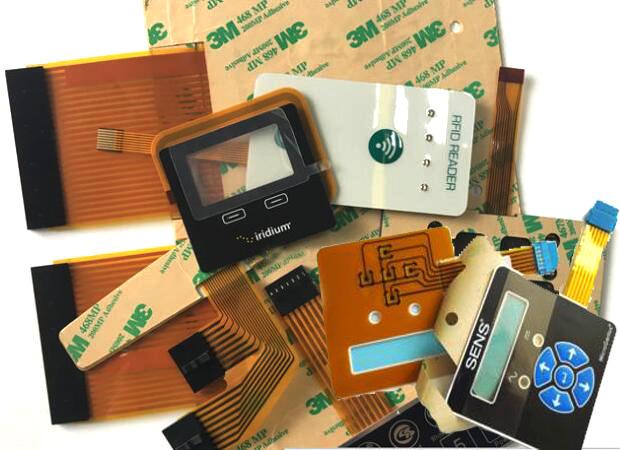 Membrane Silicone Rubber Keypad