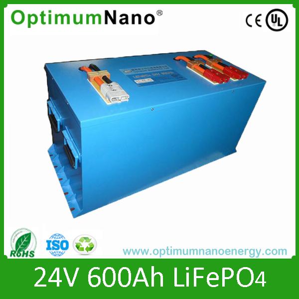 Power Bank 24V 600ah Lithium Battery for Solar System