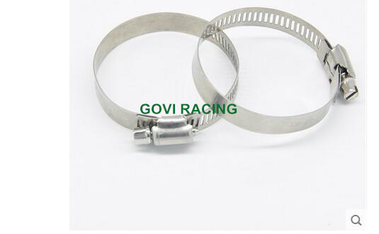 3inch American Type Hose Clamps 52-76mm Stainless Steel