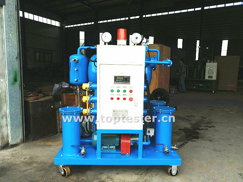Mobile Dielectric Oil Transformer Oil Processing Machine (ZY-20)