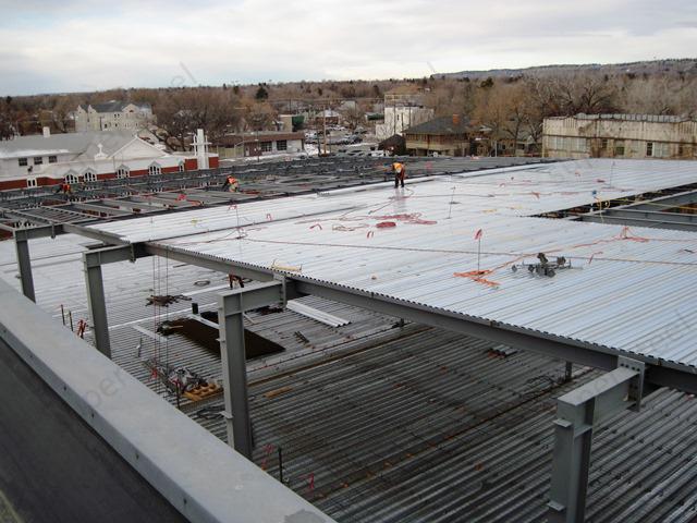 Floor Deck Galvanized Corrugated Steel Roof Sheet