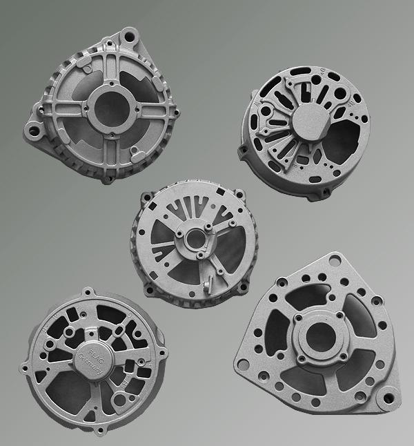 Aluminum Casting Manufacturer Casting Parts for Truck Alternator