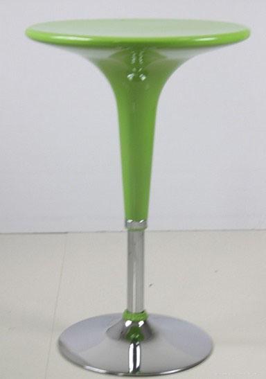 Adjustable Acrylic Round Table Acrylic Bar Table