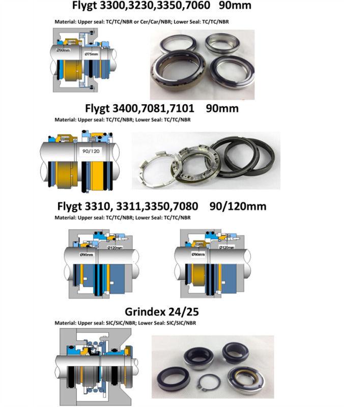 Mechanical Seal Smart Seals Flygt Seal Flygt 2125-28mm