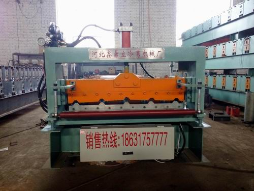 Popular Design Galvanized Roofing Sheet Roll Forming Machine