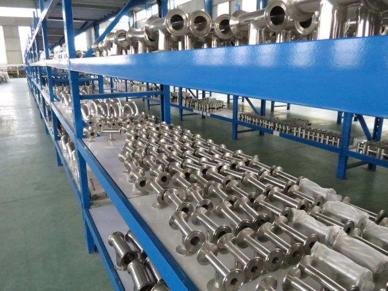Polished Stainless Steel Pipe Fittings Sanitary Elbow