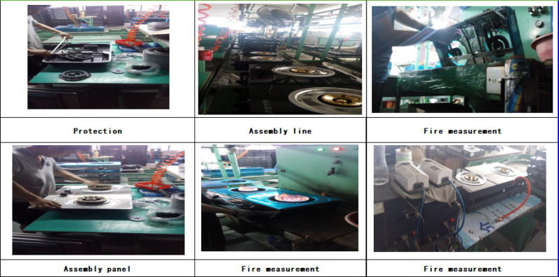 2 Ring High Pressure Cast Iron Gas Cooking