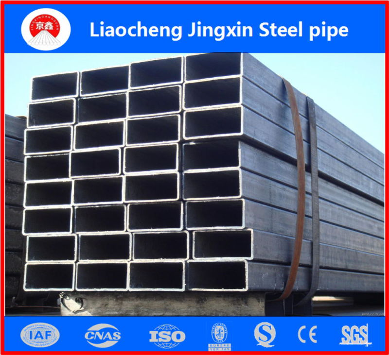 ASTM A53 Schedule 40 Seamless Carbon Square Steel Pipe