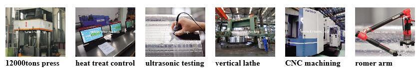 Aluminium Tin Can Machinery Forged Forging Steel Crankshafts/Crank Shafts/Eccentric Shafts