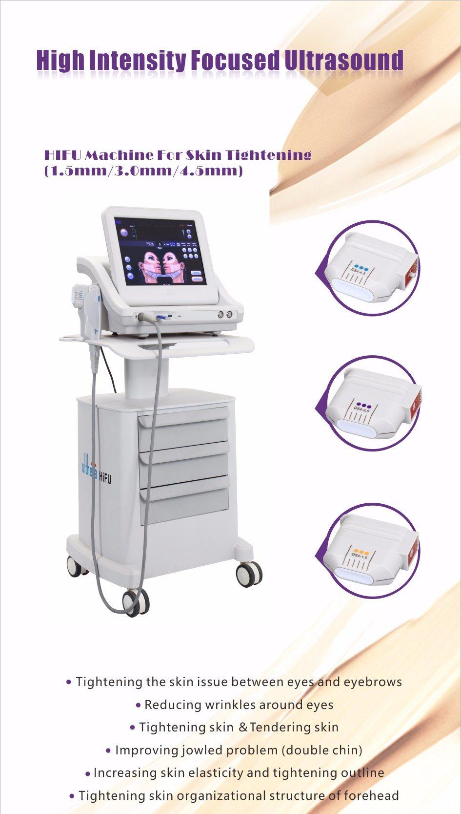 Professional Skin Rejuvenation Hifu Beauty Machine Ce Approval