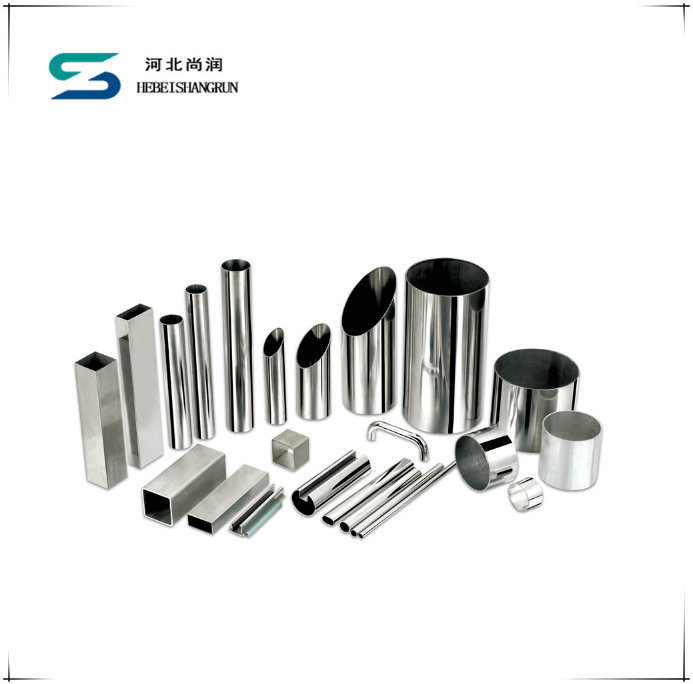 Ss201 304 316 Stainless Steel Round Pipes Tube for Decoration