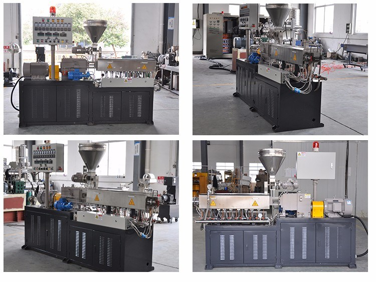 Lab Use Small Tse-30 Co-Rotating Twin Screw Extruder Line
