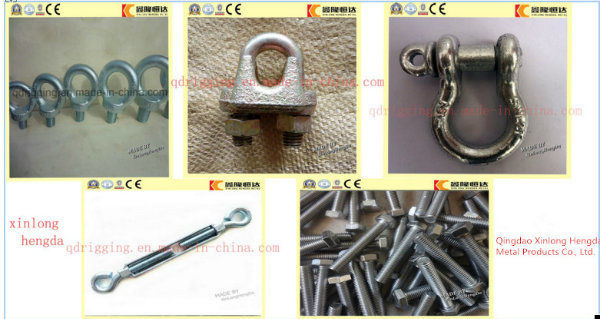 Stainless Steel Us Type G209 Screw Pin Bow Shackle