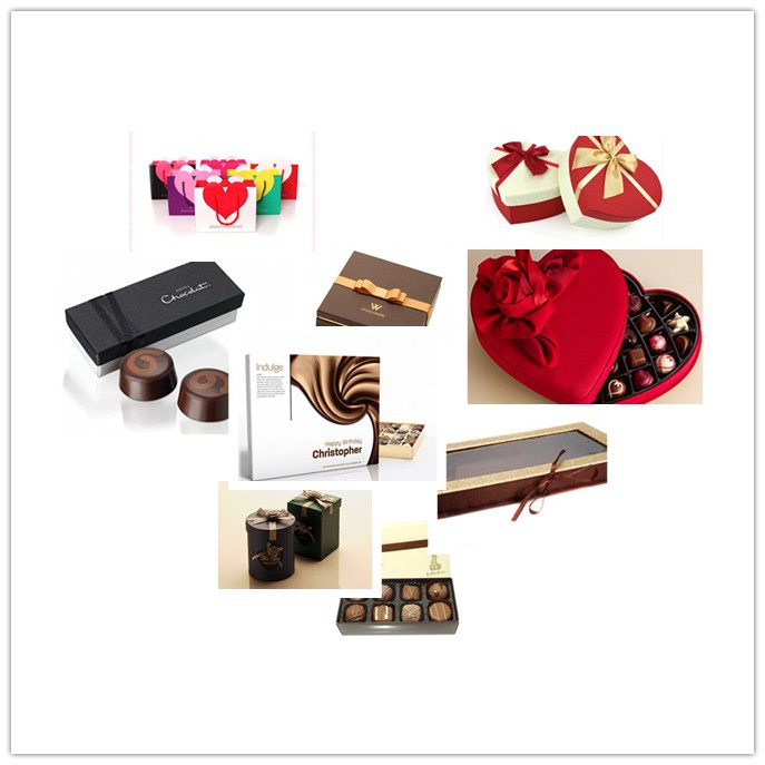 Handmade Luxury Cardboard Chocolate Gift Packaging Box
