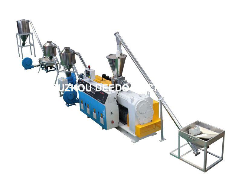 PVC Hot Cutting Die Head Granulator, PVC Pelletizing Line, Granulating Machine