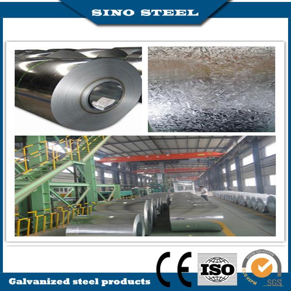 Dx51d Grade Z100 Hot DIP Galvanized Steel Coil for Construction