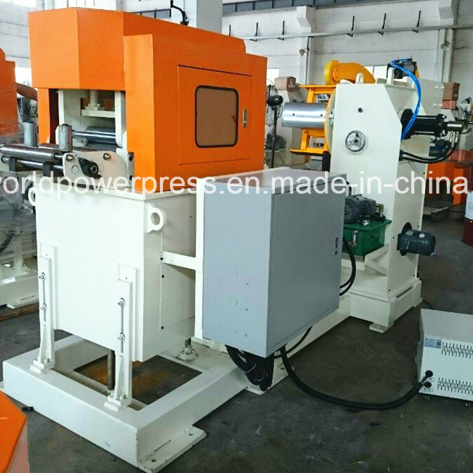3mm Thick 600mm Width Sheet Metal Feeder with Uncoiler