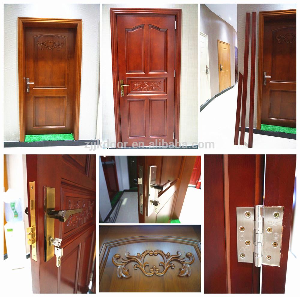Jk M512 Jie Kai Solid Wooden Double Doors With Glass Solid Wooden Door With Glass Glass Insert Solid Wood Door China Manufacturer,Duplex Apartment Design Plans