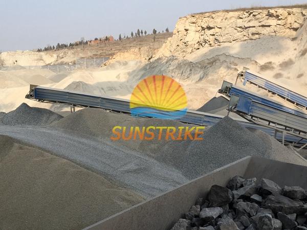 Stone Production Line Granite Crushing Plant