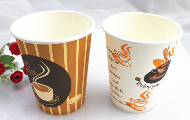 8oz 250ml Single Wall Cold Drink Disposable Paper Cup
