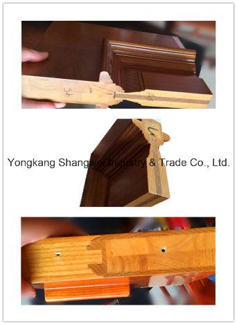 Special Design Exterior Meranti Solid Wooden Door