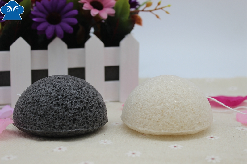 Hot Sale Natural Fiber Design Konjac Sponge