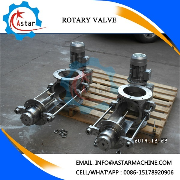 Pneumatic Control Rotary Air Lock Valve Supplier with Sew Motor