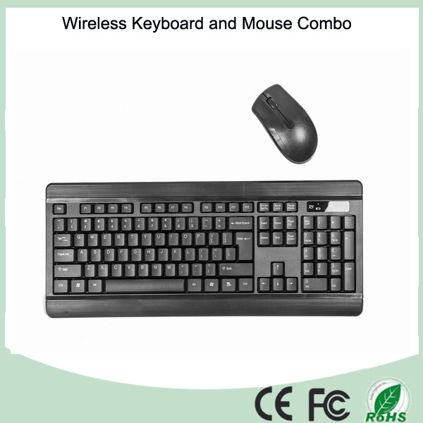 CE, RoHS Certificate Cheap Ultra Slim 2.4GHz Wireless Keyboard and Mouse
