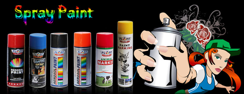 Car Panit Heat Resistant Aerosol Spray Paint