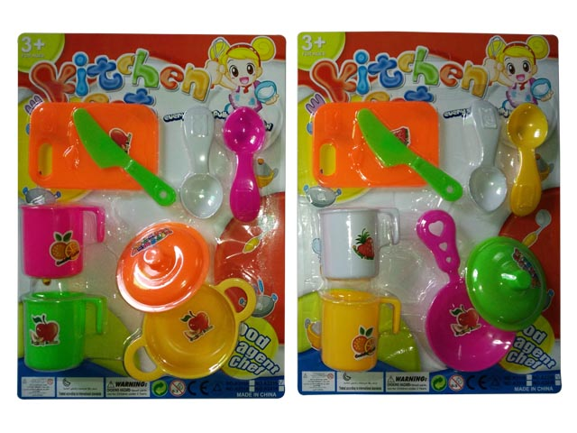 Mini Kitchen Cooking Set Toy for Kids