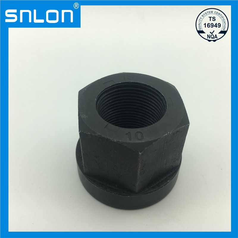 Black Heavy Nut Gr10 for U Bolt for Cars and Motors