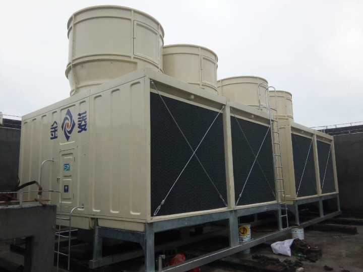 Ultra Low Noise Double Cells Cross Flow Cooling Tower