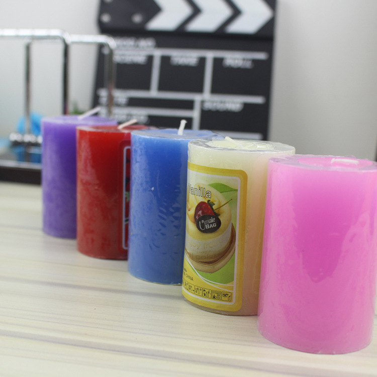 Fragrant Pillar Gift Candles