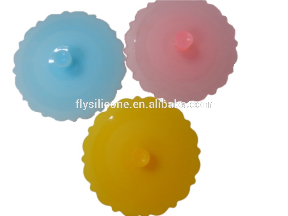 Best Selling Drinking Glass Silicone Lids