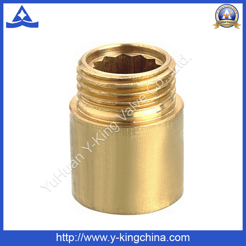 Brass Extention Coupling Nipple Pipe Fitting (YD-6009)