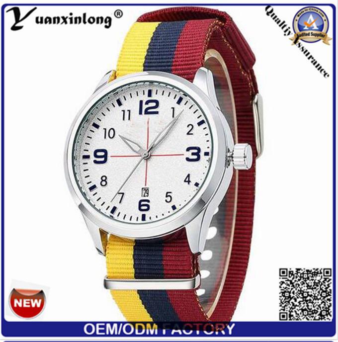 Yxl-312 Colorful Flg Dw Style Fashion Watch Calendar Newest Women Mens Sport Watch Factory