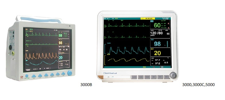 Patient Monitor; Pdj-3000; Medical Patient Monitor; Portable Patient Monitor