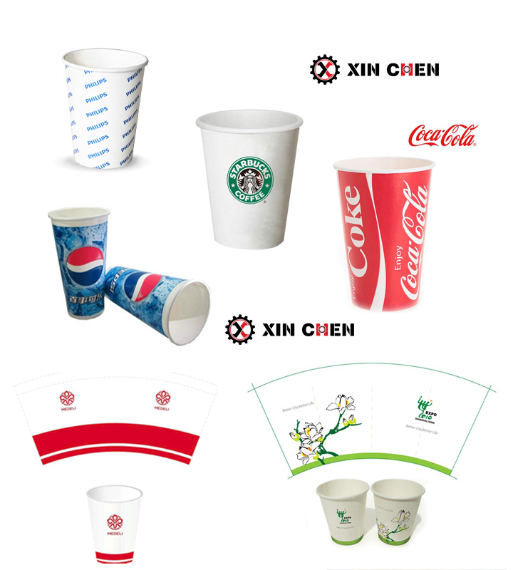 2018 Hot Double PE Coated Paper Disposable Paper Coffee Cup Machine
