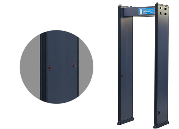 4 Zones High Sensitivity Electronic Factory Body Scaner Door Frame Metal Detector