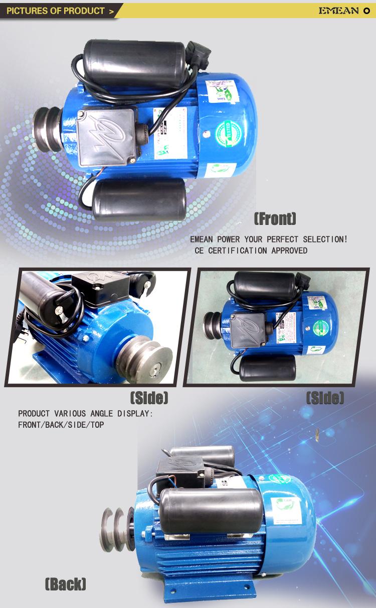 Yl Single Phase Motor 220V Electrical Motor 220V