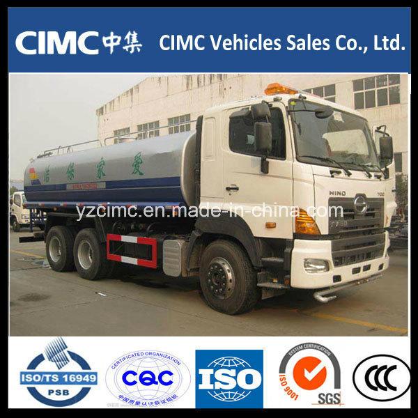 Hino 6X4 Water Truck, Water Sprinkler Truck, Water Tank Truck