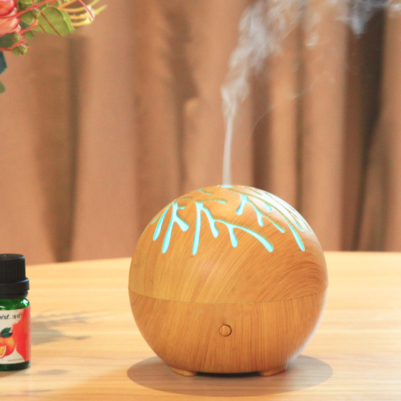 Car USB Mini Waterless Ultrasonic Cool Mist Aroma Oil Nebulizer