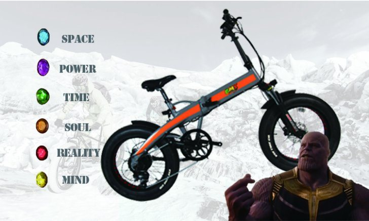 36V250W 13ah 20inches Fat Tyre Electric Bicycle with Ce