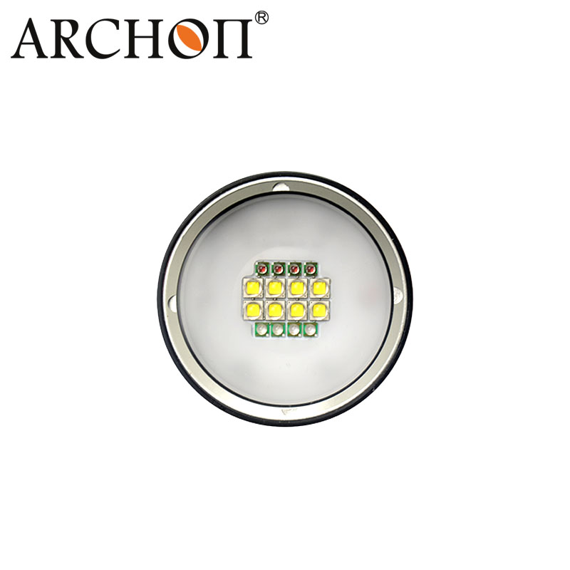 Archon 5200lm Diving Torch Video with Improved Push Button Switch