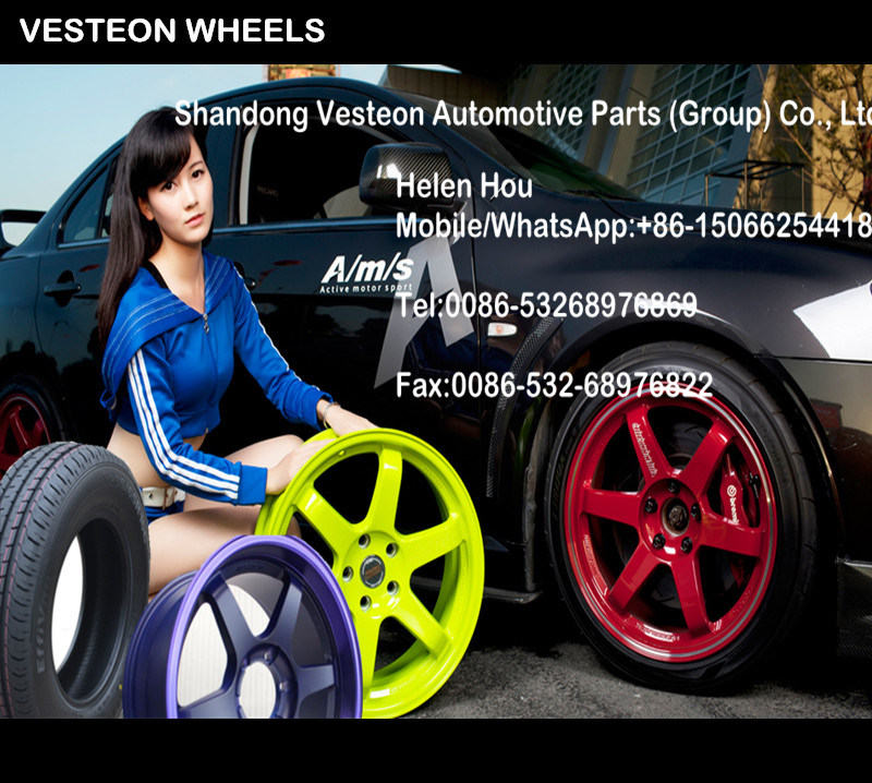 Popular Brand China Mag Alloy Wheel (14-19 Inch)