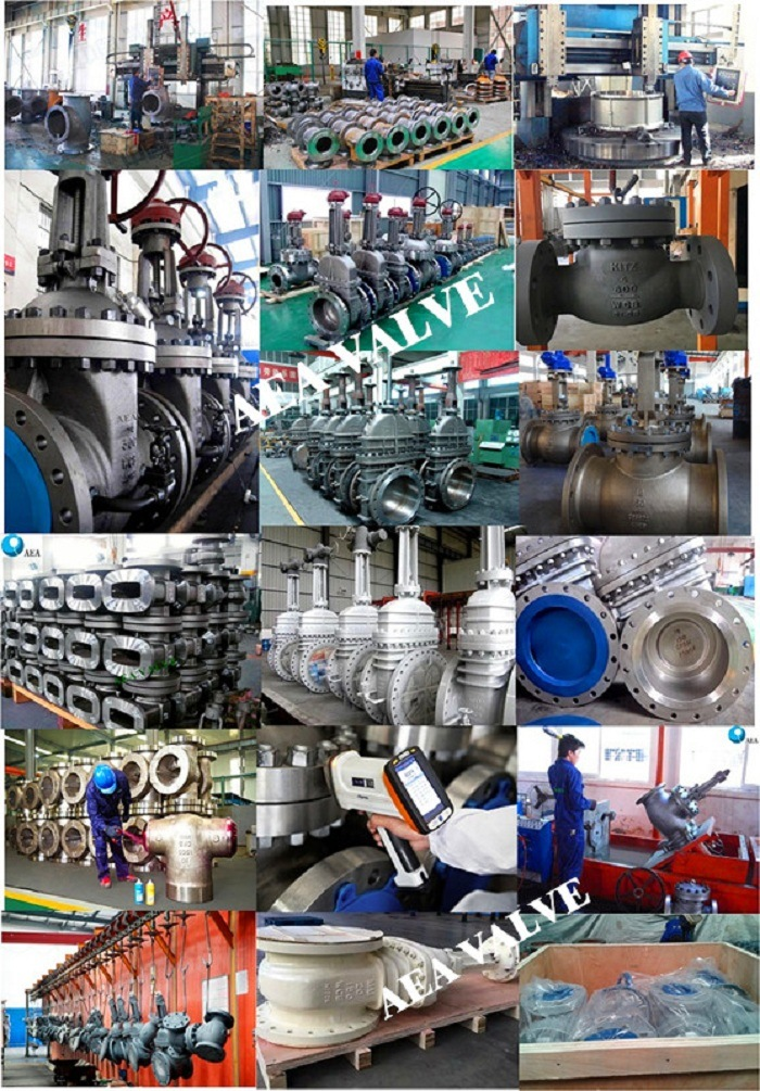 China Cast Steel Low Temperature GOST 12815-80 Flanged End Z44 Gate Valve Manufacturer with Low Price