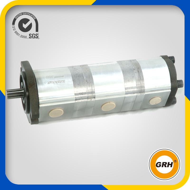 Hydraulic Fuel Triple Gear Pump for Excavator (PC40-7)